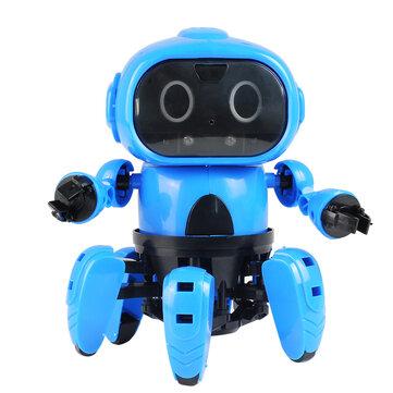 MoFun DIY Stem 6-Legged Gesture Sensing Infrared Avoid Obstacle Walking Robot Toy