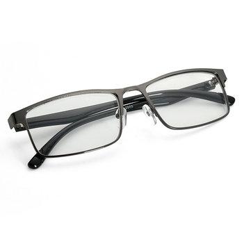 फैशन काले Nightighted चश्मा धातु पूर्ण फ्रेम Myopia चश्मा