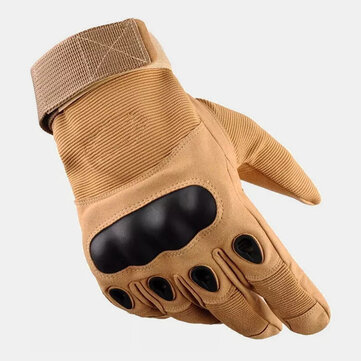 Men Full Finger Anti knife Cut Wear resistant Non slip Outdoor Mountaineering Training Fitness Breathable Tactical Gloves Coupon Code and price! - $10