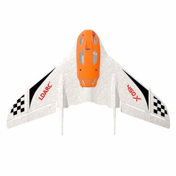 2PCS KINGKONG/LDARC TINY WING 450X V2 431mm Wingspan EPP FPV RC Airplane Flying Wing KIT