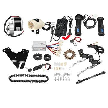 24V 250W motoriserad elektrisk cykelmotorstyrning med laddare E-Bike Scooter Conversion Kit