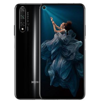 HUAWEI HONOR 20 6.26 इंच 48MP क्वाड रियर कैमरा NFC 8GB RAM 128GB ROM किरिन 980 ओक्टा कोर 4G स्मार्टफोन