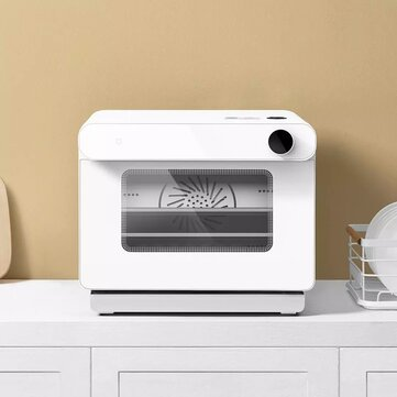 Xiaomi Mijia Smart Oven 220V 1450W 30L 50 Recipes Mijia APP Remote Control Multiple Cooking Modes with Water Purification Filter for Kitchen