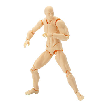 14cm 2.0 Deluxe Edition PVC Action Figure Skin Color Nude Male Joint Figure Collections Gift Doll To