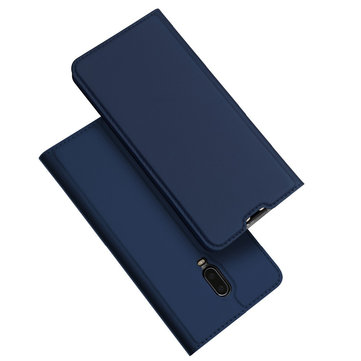 DUX DUCIS Shockproof Flip PU Leather Card Slot Full Cover Bảo vệ cho OnePlus 6T