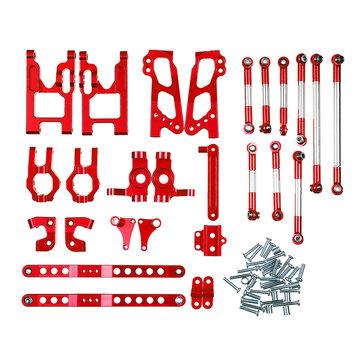 Feiyue FY-03 06 WLtoys 12428 Desert Vendor Kit Full Upgrade Accessories 1/12 Rc Car Parts Red