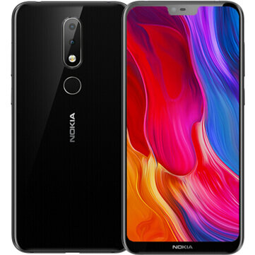 US$169.98 35% NOKIA X6 Dual Rear Camera Face Unlock 5.8 inch 4GB 64GB Snapdragon 636 Octa Core 4G Smartphone Smartphones from Mobile Phones & Accessories on banggood.com
