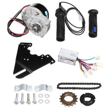 20-28インチの一般的な自転車用24V 250W電動バイク変換スクーターモーターコントローラキット