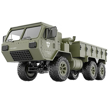 $40.79 for Fayee FY004A 1/16 2.4G 6WD Rc Car Proportional Control US Army Military Truck RTR Model
