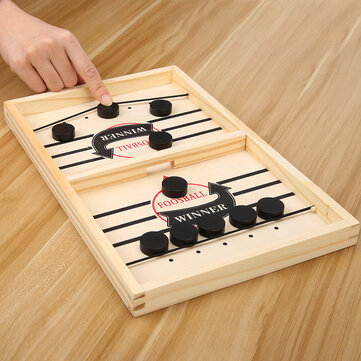 Adult / Kids Family Games Bouncing Chess Fast Sling Puck Game Child Paced Sling Puck Chess Board Toys Gift For Children