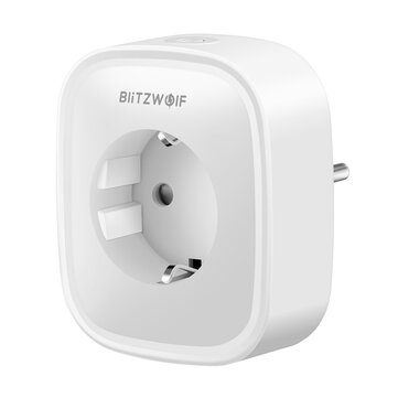 BlitzWolf® BW-SHP2 16A Pintar WIFI Socket 220 V EU Plug Bekerja dengan Amazon Alexa Google Assistant Kompatibel dengan BlitzWolf Tuya APP