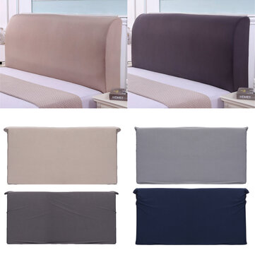 200CM Polyester Elastic Bed Headboard Cover Full Dustproof Protector Slipcover Bed Protection Dust Cover Bedspread