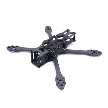 Steele 5 220mm Wheelbase 5mm Arm Thickness Carbon Fiber X Type 5 Inch Freestyle Frame Kit Support Caddx Vista Hd System For Rc Drone Fpv Racing Sale Banggood Com