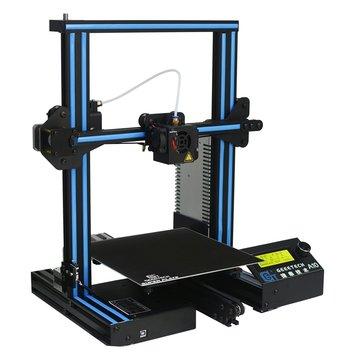 Geeetech® A10 Aluminium Prusa I3 Imprimante 3D Taille d'impression 220 * 220 * 260mm avec source ouverte GT2560 Support de carte de contrôle Télécommande / Impression hors ligne Buse 1.75mm 0.4mm