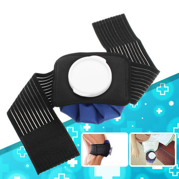 6 Inch Pain Relief Hot Cold Therapy Reusable Ice Bag Pack Wrap For Knee Shoulder Back Waist