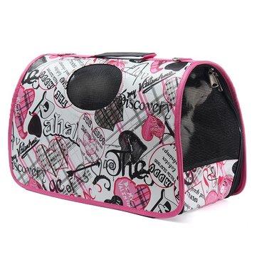 Cargador ampliable del animal doméstico del gato del perro que se dobla que lleva el bolso del recorrido Portador portátil aprobado del animal doméstico del animal doméstico