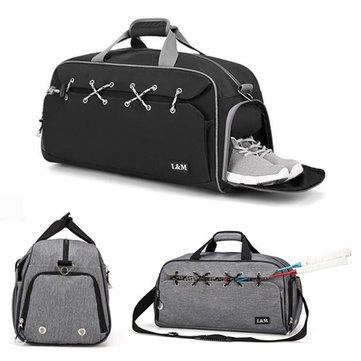 Outdoor Sports Gym Bag Multifunction Fitness Shoulder Bag With Shoes Pocket Travel Yoga Handbag