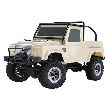 $87 for URUAV 1/24 4WD 2.4G Mini RC Car Crawler Model Vehicle Waterproof RTR With Two Battery