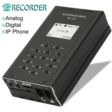 How can I buy Analog VoIP Digital Telephone Recorder Remote Listen Leave Message Loop Records with Bitcoin