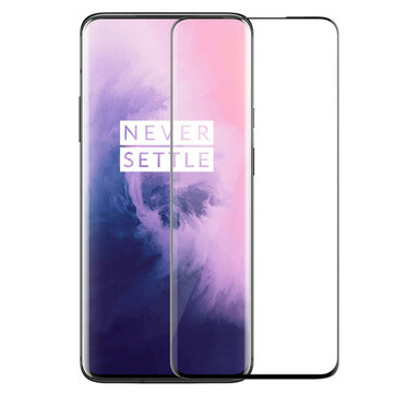 BAKEEY 3D Full Coverage Anti-Explosion Tempered Glass Screen Protector for OnePlus 7 Pro / OnePlus 7T Pro