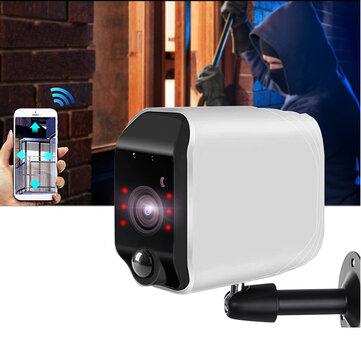 320 ° HD 1080P WIFI IP Camera Outdoor CCTV Home Security IR Kamera PTZ Sterowanie ONVIF