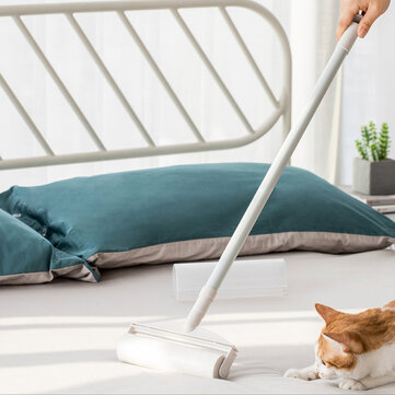 Jordan & Judy Retractable Roller Sticky Mop for Bed Sofa Floor Mat 130cm Rod from Xiaomi Youpin