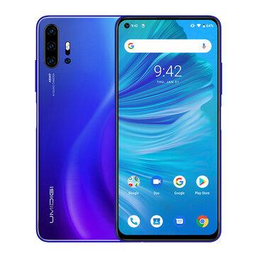 UMIDIGI F2 Global Bands 6.53 inch FHD+ Android 10 NFC 5150mAh 48MP Quad Rear Cameras 6GB 128GB Helio P70 4G Smartphone