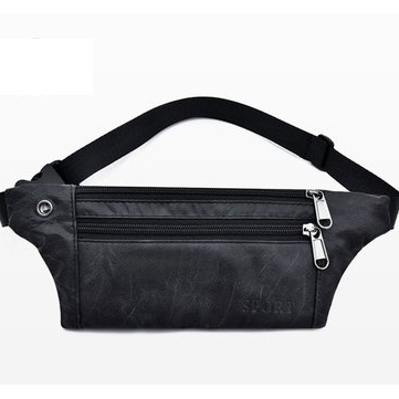 Triple Zipper Simple Fashion Casual Large Capacity Waterproof USB Chargering Student Laptop Bag