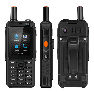 UNIWA F40 Zello Walkie Talkie IP65 4000mAh MTK6737M FDD LTE 4G Waterproof GPS Quad Core 1GB   8GB Feature Phone