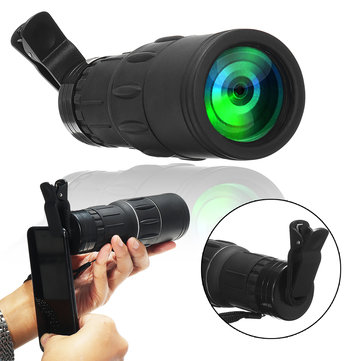 40x60 HD Monocular Telescope Zoom Optical Focus Day Night Vision Hunting Camping Monocular
