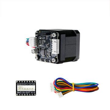 Makerbase STM32 Closed Loop Stepper Motor NEMA17 MKS SERVO42B + OLED Display Kit for 3D Printer Prevent Lose Step During Printing with High Cost-effective