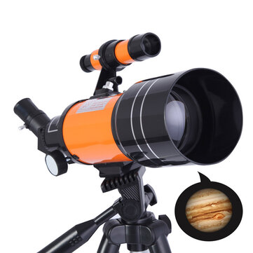 70mm Clear Aperture 150x Astronomical Telescope