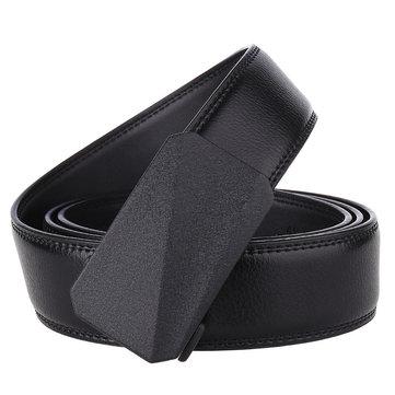 Alloy Automatic Buckle Belt Men's Belt Two-layer Leather Belt