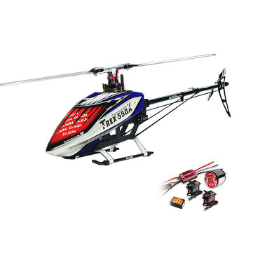 $982.79 For ALIGN DONINATOR T-REX 550X 6CH 3D Flying RC Helicopter Super Combo