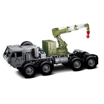 HG P802 1/12 आरसी कार सैन्य ट्रैक्टर ट्रक 8 * 8 DIY स्पेयर पार्ट्स के लिए क्रेन उठाने लिफ्ट शाखा विधानसभा
