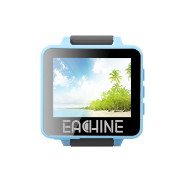 "Eachine RD200 2"" 5.8GHz 48CH FPV Wearable Watch DVR RaceBand Monitor Receiver OSD Built-in Battery Support AV-In for FPV RC Drone Transmitter Mount"
