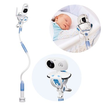 Multifunction Baby Monitors 360° Wall Mount Camera Rack Secure Camera Clamp Phone Holder