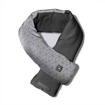 FLEXWARM 3Modes USB Rechargeable Washable Smart Electric Heating Scarf Infrared Temperature Control Outdoor Winter Warmth Neck Shoulder Scarf From Xiaomi Youpin