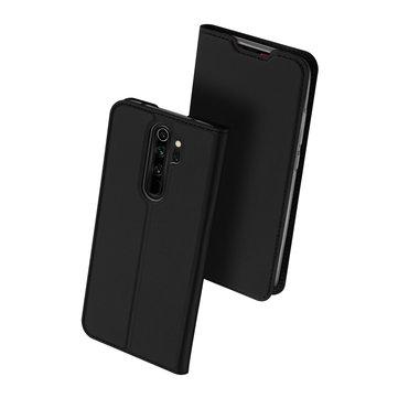 Custodia protettiva in pelle PU DUX DUCIS con fessura per carte magnetiche con porta carte di credito per Xiaomi Redmi Note 8 Pro
