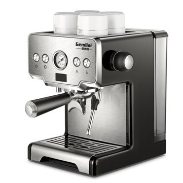Gemilai CRM3605 Coffee Maker Machine Stainless Steel Coffee Machine 15 Bars Semi-automatic Commercial Italian Coffee Maker