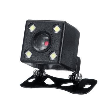 Car Rear View Camera CCD Reversing With Bracket Harness Kit Waterproof 170°