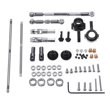 RBR/C OP Metal Upgrade Parts For 1/16 WPL B14 B24 B16 B36 C14 C24 C34 JJRC Q62 63 RC Car Parts