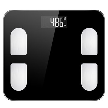 KALOAD bluetooth Weight Scale Intelligent APP Data Analysis LED Display Home Sport Fitness Yoga Tools Scale