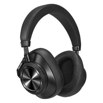 Bluedio T7 ANC bluetooth האלחוטית 5.0 אוזניות HiFi Active ביטול רעש אוזניות סטריאו חיי סוללה ארוכות עם 4 מיקרופון