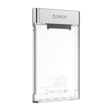 ORICO Hard Disk Case 2.5 inch SATA Transparent to USB 3.0 HDD/SSD Case Tool Support 4TB UASP Case Hd Box 7-9.5mm JMS578 For Laptop