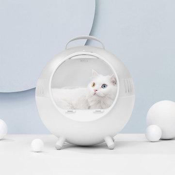 Smart Pet Carrier, Cage al aire libre Transporting Pet Bed, Transparente conveniente, viaje con gatos y perros, de Xiaomi Youpin