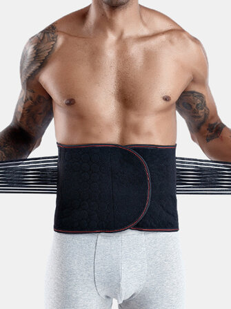 Buy Men Waist Trainer Shapewear Fitness Trimmer Band Back Support Underwear with 3 on Gipsybee.com