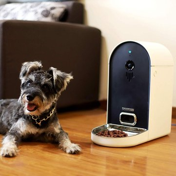 DOGNESS Automatic WiFi Pets Smart Camera Feeder APP Control Pet Smart Feeder Food Dispenser with WiFi