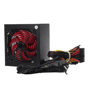 650W Gaming PC ATX Power Supply PFC Silent Fan 4-PIN...