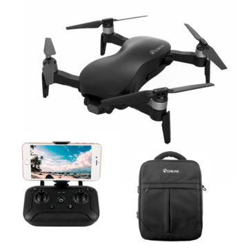Upgraded Eachine EX4 5G WIFI 3KM FPV GPS With 4K HD Camera 3-Axis Stable Gimbal 25 Mins Flight Time RC Drone Quadcopter RTF